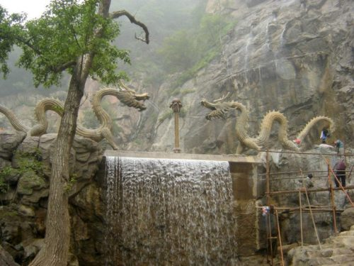 lucifelle:  Mianshan Mountain Temples, China - a Wonderland on Earth. Mian Shan is a fantastic Buddhist and Taoist mountain with several temples literally built on the cliff face with hundreds of hidden caves, dating back 2500 years. The most famous of all the Taoist Temples is the DaLuo Gong 大 罗 宫 (or the Temple of All Embracing Heaven). The Chinese ancients believed that if you breathe life and energy into your spiritual dragon, or your greater self, you create change that breathes life and energy into all, allowing you to ride the dragon's expansive spirit to a zenith of endless possibilities. Claim and ride your dragon, discover the magic in you and live your dreams now.