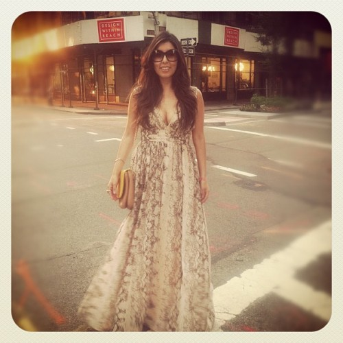 New York Summer Nights! #nyc #fashion #style (Taken with Instagram)