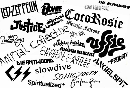 My favorite bands everrrr. If you're into most of them i must love you ;P