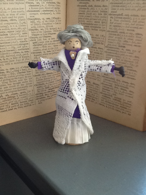 Day Seventy Three Violet, Dowager Countess of Grantham