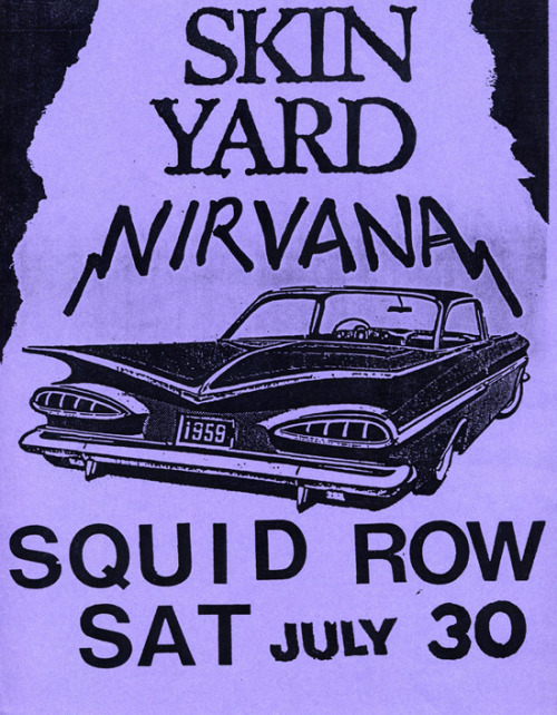 7/30/88 - Squid Row Tavern, Seattle, WA.
