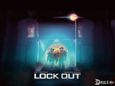 LockOut Unofficial Poster Inspired in movies inspirado en peliculas