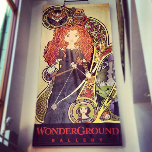 mickeyandminnie:  Merida!