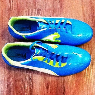 My cleats!!! :) (Taken with Instagram)