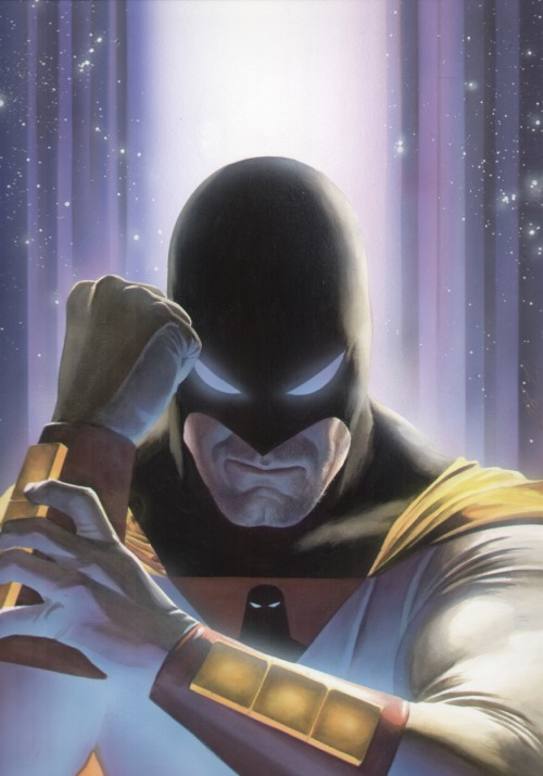 comicbookcovers:  Space Ghost by Alex Ross
