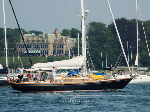 thefullerview:  New York Yacht Club / Newport RI / Americas Cup 2012 photo: david fuller