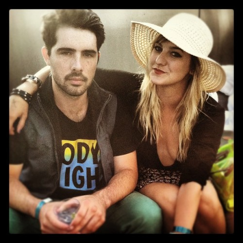 Serious faces with Jerome @LOL_BOYS (Taken with Instagram at Rooftop Bar at The Standard, Downtown LA)