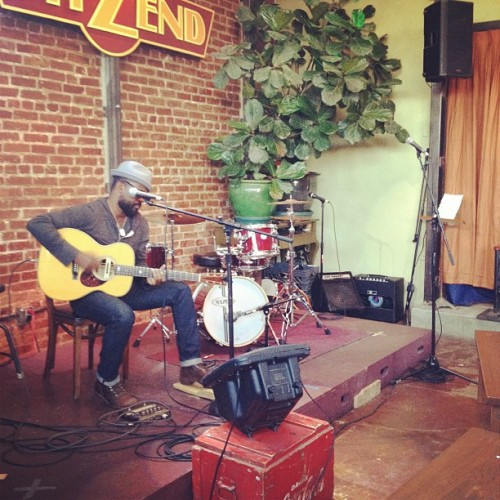 Guess who's sound checkin! @drh3  (Taken with Instagram at WitZend)