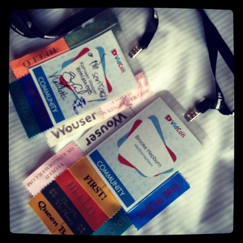 #vidcon  (Taken with Instagram)