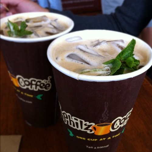 Mint mojito coffee from Philz Coffee! (Taken with Instagram at Philz Coffee)
