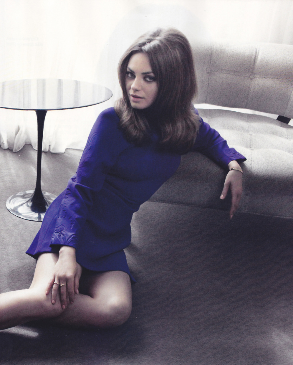 Mila Kunis - Elle UK by Doug Inglish, August 2012