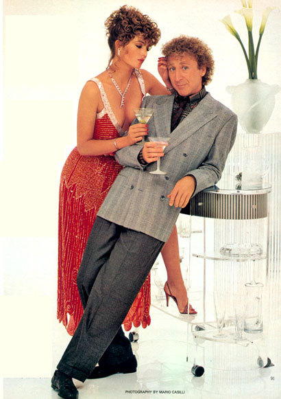 The Woman in Red  Gene Wilder and Kelly LeBrock. This movie is awesome.