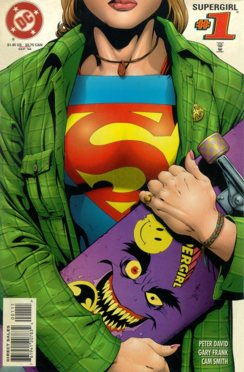 Supergirl #1, September 1996, cover by Gary Frank and Cam Smith
