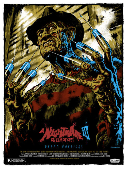 bohemea:  A Nightmare on Elm Street 3 poster by Jason Edmiston