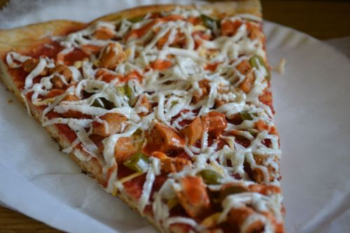 HAPPY VEGAN PIZZA DAY! This is what I ate today: Vegan BBQ Chicken pizza at Vinnie's Pizzeria in Brooklyn, NY. It was so delicious, I can't even talk about it.  [I feel you, messierthanyou! - ed.]