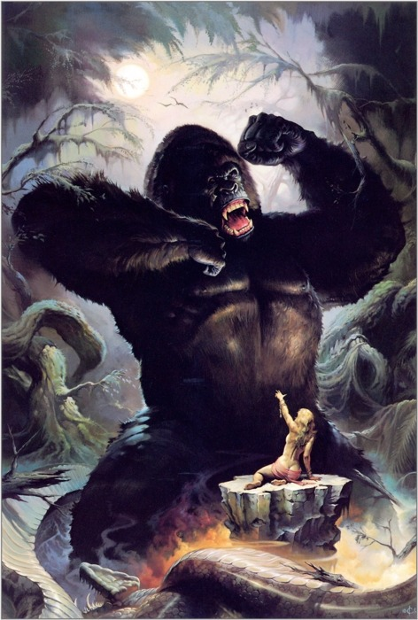 notpulpcovers:  King Kong