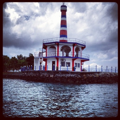 Lighthouse (Taken with Instagram at Porter Marina)