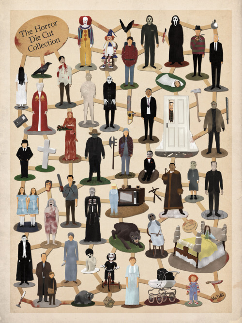 Cool Stuff: Max Dalton's 'Horror Die Cut Collection' Poster | /Film