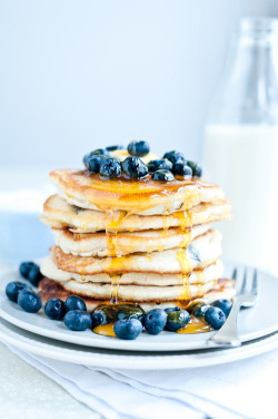 fridgebook:  Blueberry Pankcakes
