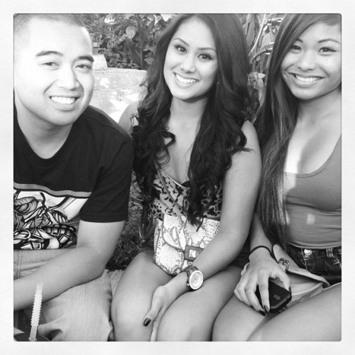 Anthony wanted to take a picture of us. 😊 (Taken with Instagram)