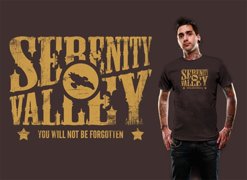 Serenity Valley by robotrobotROBOT at Shirtpunch!