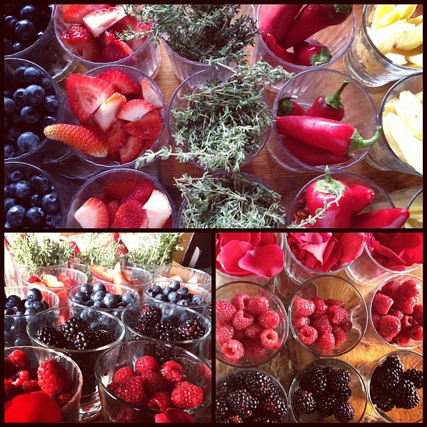 we utilize only the freshest organic fruits, vegetables, and herbs to garnish our hand-crafted cocktails. enjoy! (Taken with Instagram at Mesa)