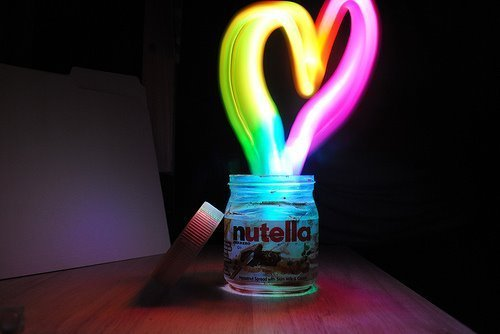 Nutella equals Love. Enough said.