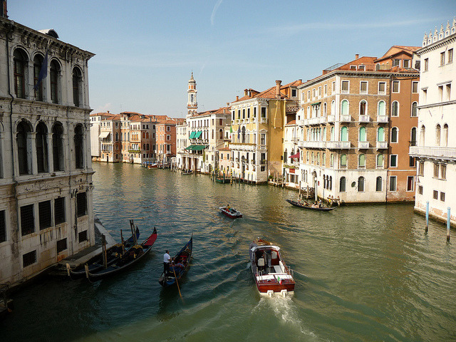 | ♕ |  Grand Canal from bridge - Venice  | by © sylvia-münchen