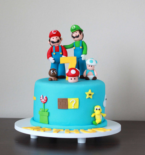 Mario e Luigi by The Cookie Shop on Flickr.
