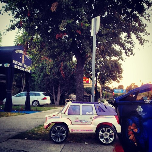 Barbie Escalade EXT (Taken with Instagram)