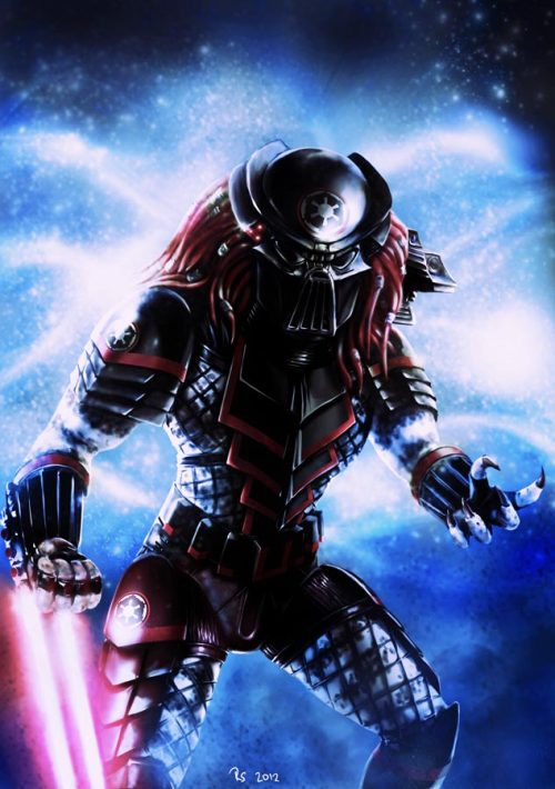 thehauntedrocket:  Star Wars - Sith Predator by rhymesyndicate