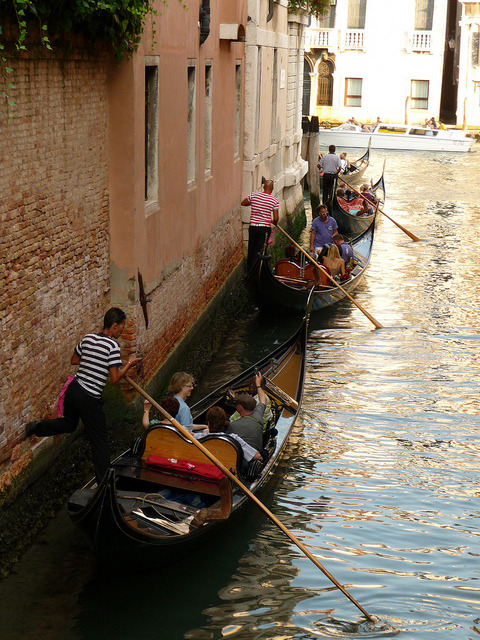 | ♕ |  Traffic jam in Venice  | by © sylvia-münchen