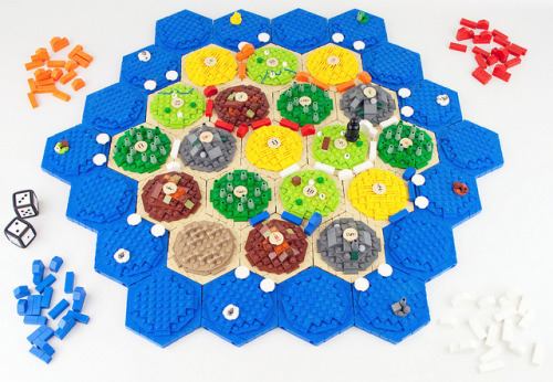 The Settlers of Catan by L D M on Flickr.