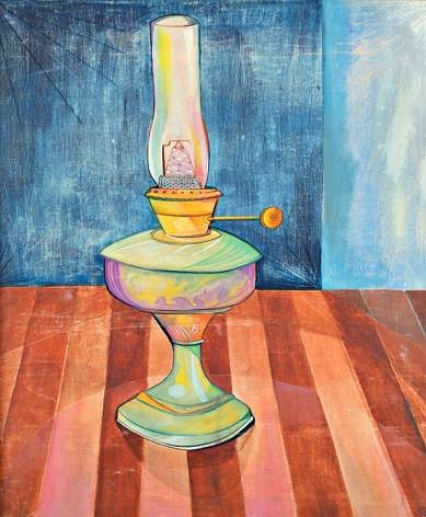 Juan Ponç The Oil Lamp 1955