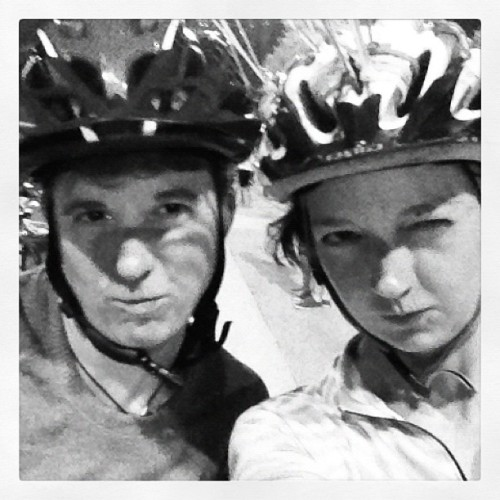 Serious riders (Taken with Instagram at L.A.T.E. Ride)