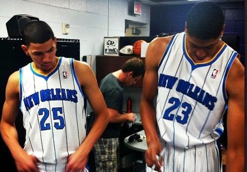 jxmanx:  Austin Rivers And Anthony Davis The New New Orleans Hornets Austin Rivers Is The Next Big Thing!!!