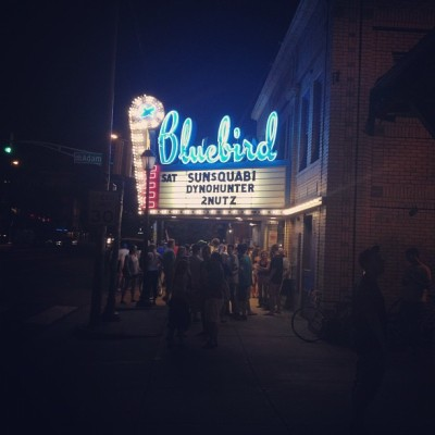 Bam (Taken with Instagram at Bluebird Theater)