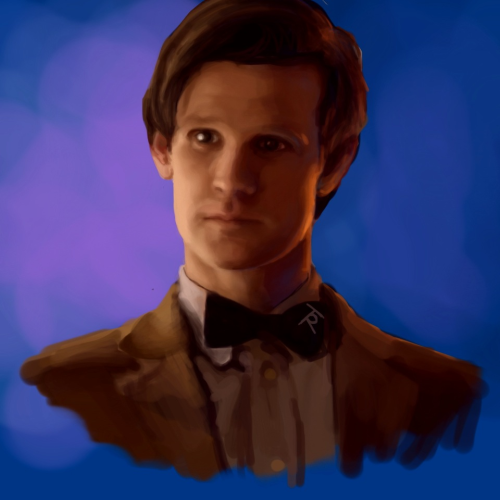 baroquetronica:  Eleventh Doctor speed paint.