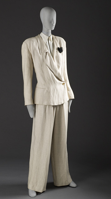 Pantsuit Giorgio Armani, 1987 The Los Angeles County Museum of Art