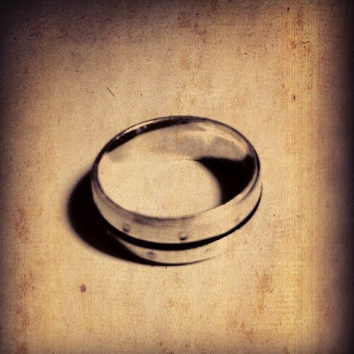 When you threw the ring, you threw my heart with it.