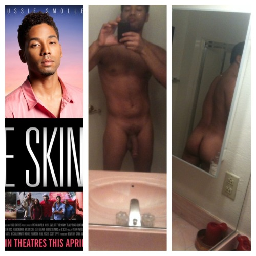 "theluvofman:   Jussie Smollett from ""The Skinny"" I just saw this movie    Great movie his sister would be proud."