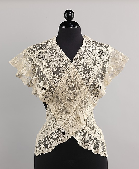 omgthatdress:  Fichu Late 19th century The Metropolitan Museum of Art