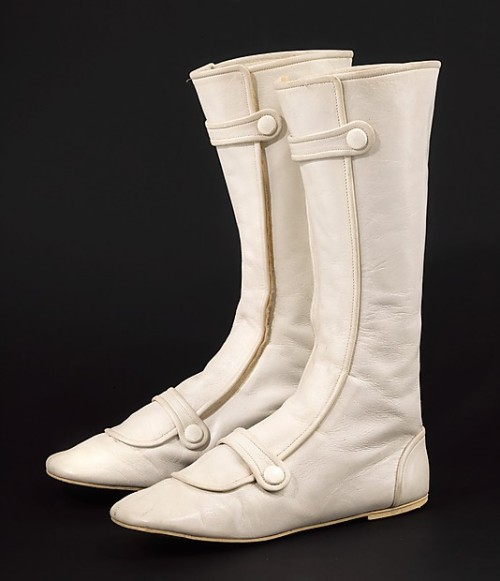 Boots André Courrèges, 1967 The Metropolitan Museum of Art
