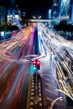 aspirethesenses:  Bangkok Traffic (by: mark burban)