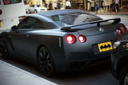 blessed-in-abundance:  Batman's Nissan GT-R