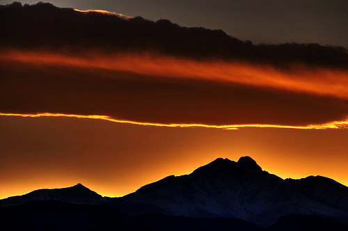zombisexual:  Long's Peak (by david.evenson)