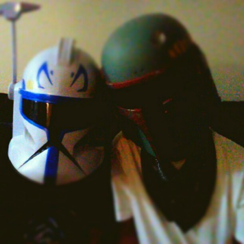 James and I #starwars (Taken with Instagram)