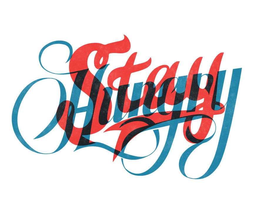 by9:  Neil Tasker - Hand Lettering and Illustration