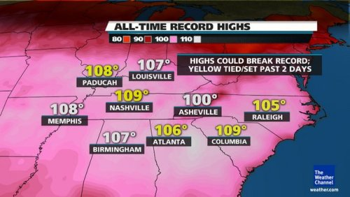 I'm so glad I'm not spending my summer in the South.