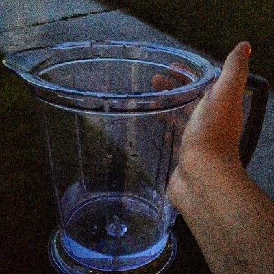 This is how I drink water.  (Taken with Instagram)